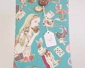 "Alice in Wonderland - Padded Case for iPad Mini - Kindle - Fire HD - Or Any Tablet / eReader up to 8.5 "" Screen Size - 3 Colours to Choose!"