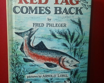 Red Tag Comes Back by Fred Phleger and illustrated by Arnold Lobel vintage 1961 Science I Can Read Children's Hardcover Book