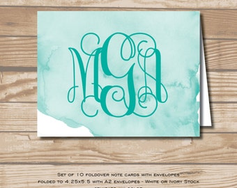 Watercolor Note Cards