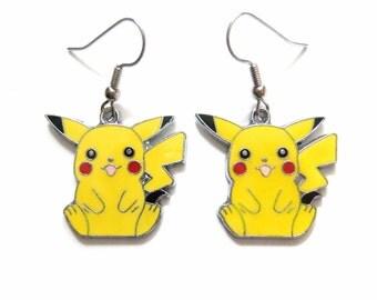 Pikachu Earrings Pokemon Jewelry Accessories