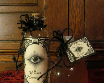 """Hydromancy ~ """"Infused Scrying Water"""" ~ CHARGED, Full moon, blessed, crystals, altar, ritual, magick, spells, apothecary, scrying, divination"""