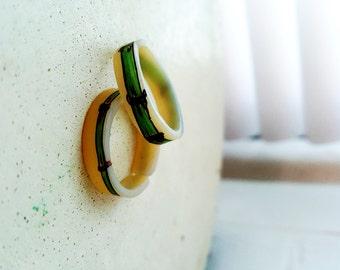 Bamboo Shrink Plastic Ring