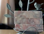 Japanese Cherry Blossom Soap, with Charcoal and Kaolin Clay, Moisturizing Soap, Sakura Soap, Fragrant Soap 4oz.