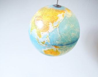 Globe Ceiling Lamp 'Atlas' | Repurposed
