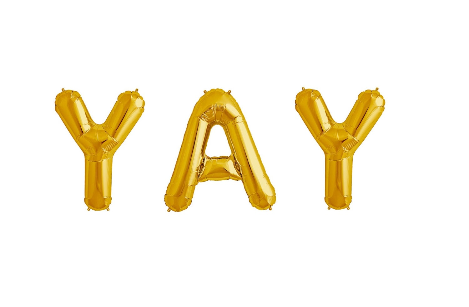 34 yay letter balloons giant gold letters 1st by for Giant letter balloons