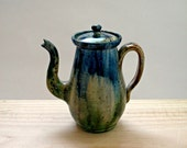 Vintage Studio Pottery Small Teapot Coffee Pot