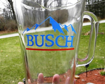 Vintage Anheuser Busch Beer Pitcher - 1970's - from DustyMillerAntiques