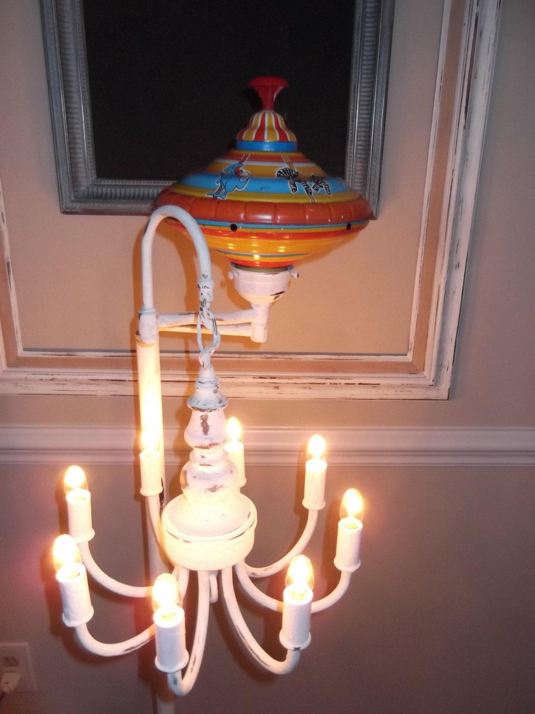 nursery room chandelier floor lamp nursery lamp vintage spin. Black Bedroom Furniture Sets. Home Design Ideas