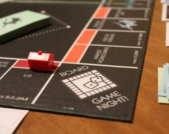 Custom Monopoly Board Game