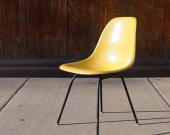 Eames Fiberglass Chair by Herman Miller