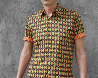 Checks shirt - Jacquard - BAÏSAP