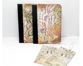 Notebooks, Mini Notebook, travel journal, travel notebook, small notebook, blank notebook, small journal, pocket notebook, pocket journal