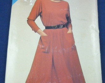 See & Sew 5359 Size A 8 10 12 Pattern Misses Dress Pullover Dress 1985 Uncut