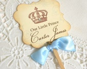 Little Prince Cupcake Toppers/Food Picks