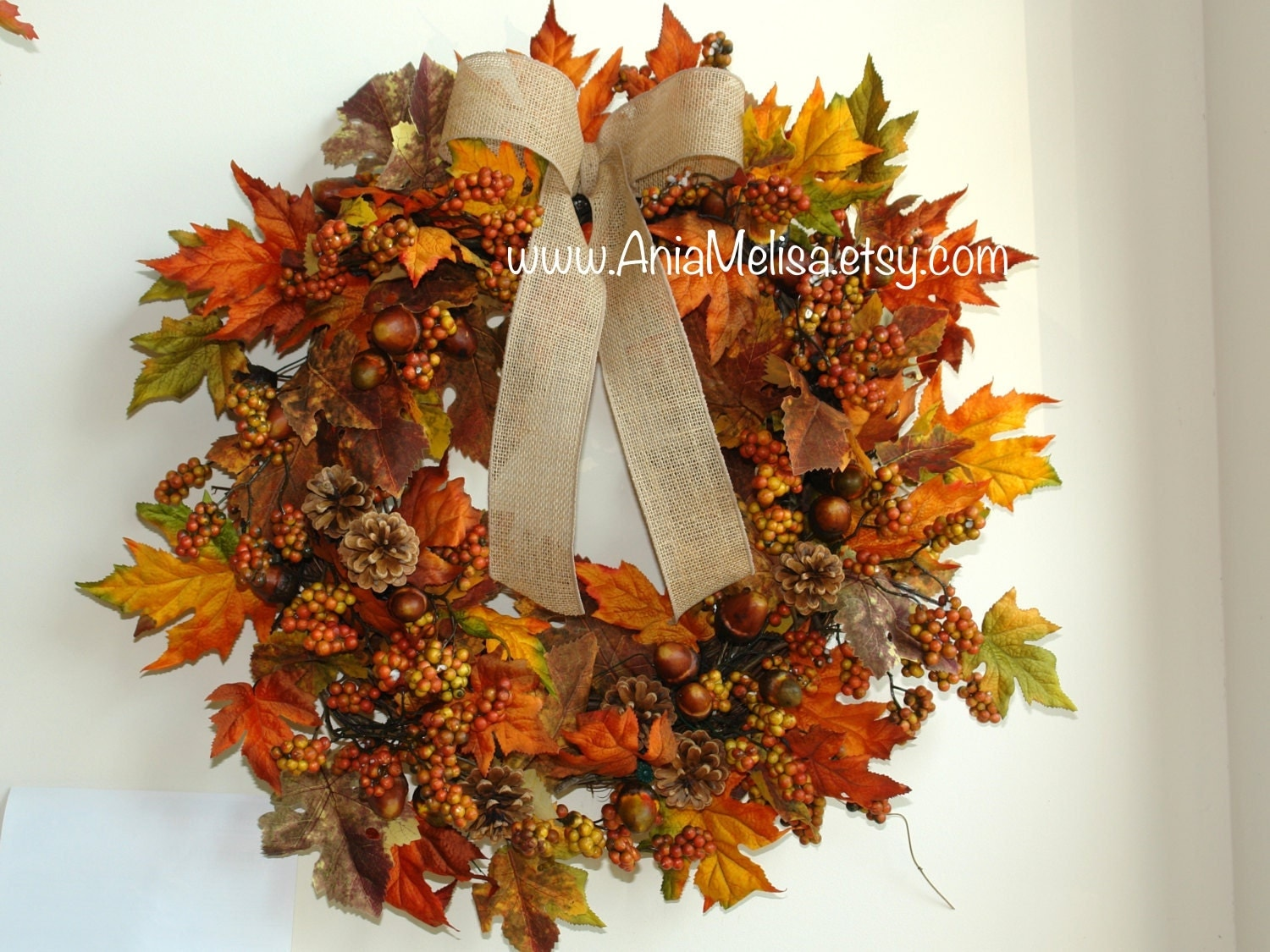 Fall Wreath Fall Wreaths Autumn Wreaths Front Door Wreaths