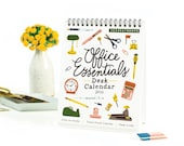 Office Essentials Desk Calendar