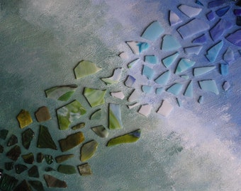 Custom Mosaic on Canvas 16 x 20**