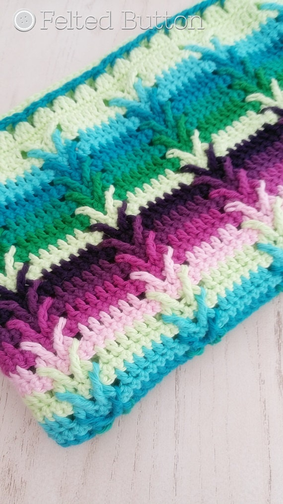 Different Crochet Patterns For Baby Blankets : Crochet Pattern Afghan Throw Baby Blanket This Way