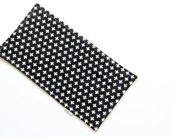 SALE || Burp Cloth || Plus Black || Fleece Backing