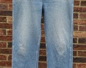 """Vintage Men's """"Roebucks"""" Cotton Denim Jeans  Size 38 x 31"""