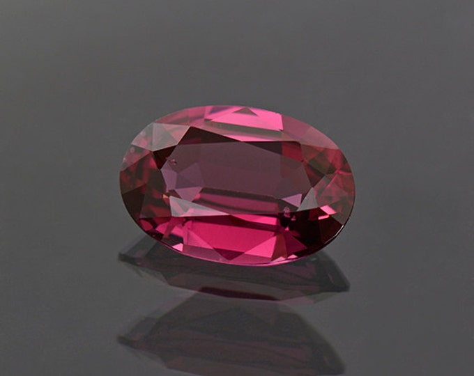 Beautiful Tanzanian Cranberry Pink Rhodolite Garnet Gemstone 3.89 cts.