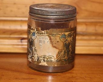 Rare Vintage Gypsy Rose Cold Cream Jar