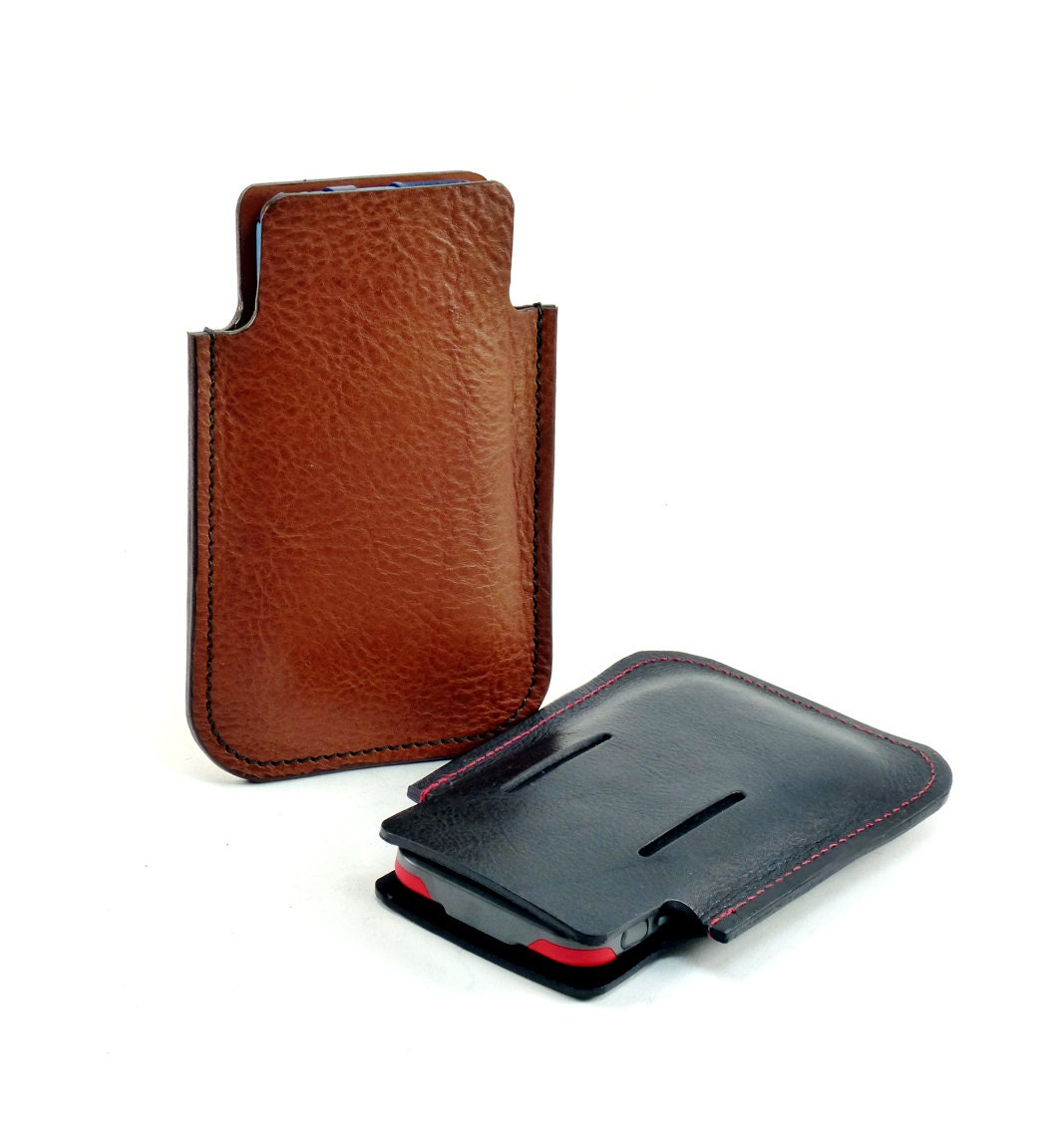 iphone 6 plus otterbox leather holster with integral belt loop