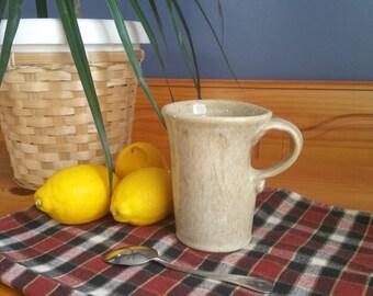 Tall Oatmeal Glazed Mug