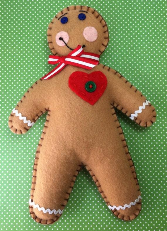 Large Gingerbread Man Doll