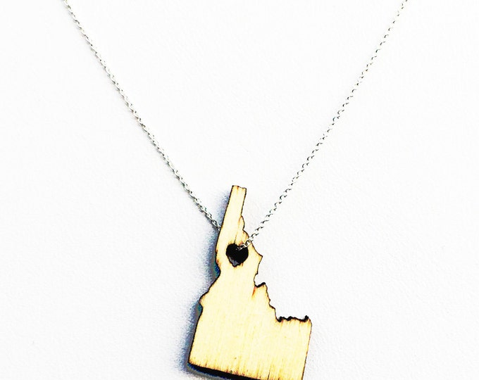 Idaho States of Love Necklace ID state jewelry