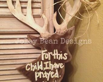 Deer, Craft, Wooden Unfinished, Shape, Paintable