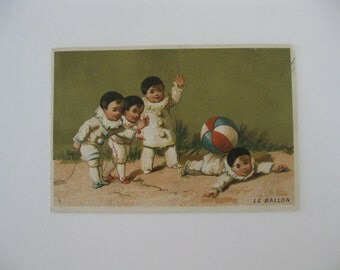 Victorian Trade Card - Le Ballon