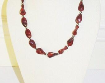 Red Creek Jasper Gemstone Necklace - S435