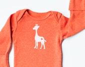 Giraffe Newborn Onesie