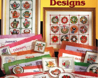Kooler Design Studio 365 Tiny Cross Stitch Designs Charted Designs to Stitch Needlework Easy Patterns
