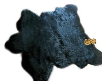FUR ACCENTS Polar Bear Skin Area Rug / Luxury Faux Fur Throw Rug / Realistic Taxidermy Sheepskin Alternative / 4 Colors