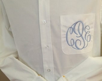 Additional Embroidery Add-On to One Sleeve or Cuff