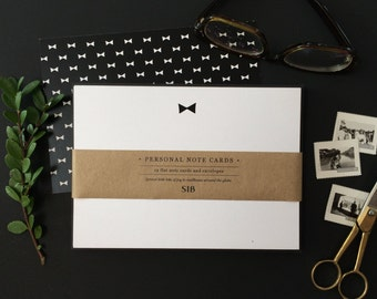 Bow Tie // Stationery Note Cards