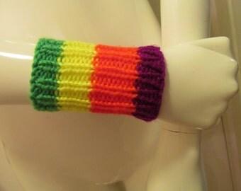 Colorful Neon Cuff