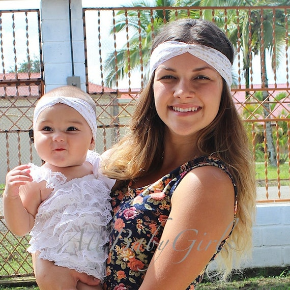 Gold Baby Turban, Toddler Turban, Baby Turban, Women's Turband, White Headband, Baby HeadWrap, Newborn Photo Prop, Hair Accessories