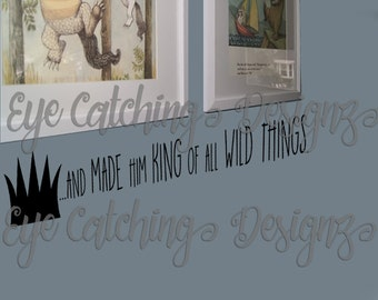 Where The Wild Things Are Wall Decal | Etsy Part 86