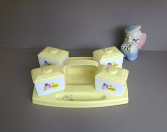 Vintage Baby Nursery Changing Table Organizer Cabby, Vintage Table Caddy,  Diaper Changing Accessory Caddy