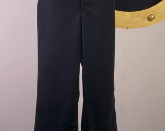 Sailor Trousers. Flared trousers. Wide leg trousers. Vintage wool trousers. Mens trousers. Mens pants.