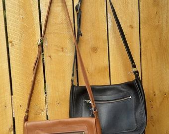 SALE!  - Handmade Leather Bag - Leather Messenger Bag- Leather purse