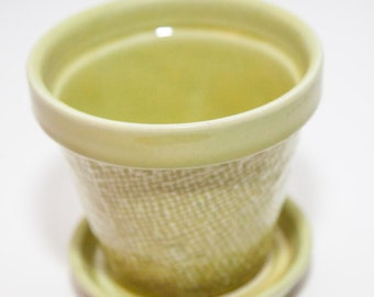 Chartreuse Planter Etsy