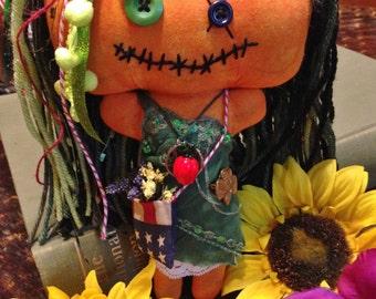 Handmade Shabby Charlotte Doll - Ivey