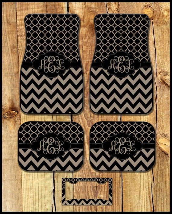 Car Mats Monogrammed Gifts Personalized Custom Floor Mats Cute