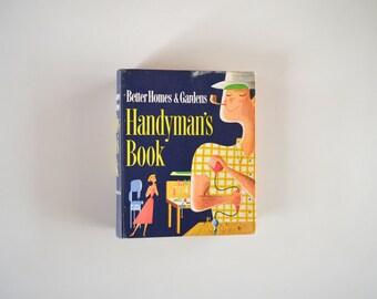 Mid Century Handyman's Book / 1951 Better Homes & Gardens