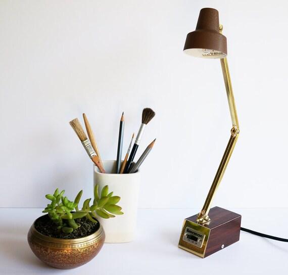 Mid Century Reading Lamp: Mid-Century Task Lamp Adjustable Desk Lamp Mod Lamp Tensor