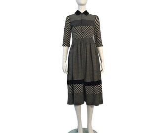 COMME des GARÇONS TRICOT - 80's Rare Houndstooth Dress